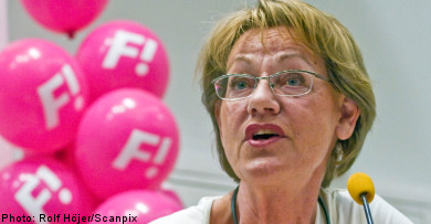 Feminist Initiative sets sights on EU elections