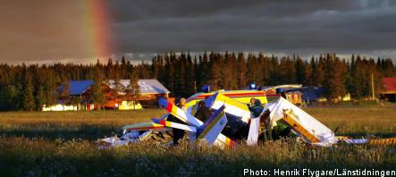 Two dead in plane crash