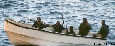 Swedish navy ready to hunt pirates