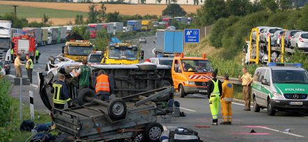 Three killed on Saxony autobahn