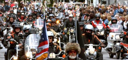 Bikers invade Hamburg for Harley fest