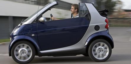 Daimler announces an electric Smart car for 2010