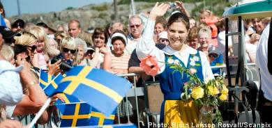 Sweden's National 'Sunny' Day