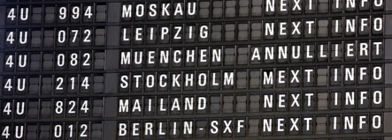 Pilot strike grounds dozens of German flights