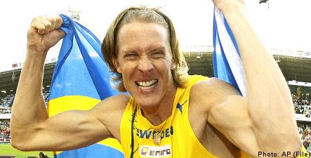 Swedish triple jump champ on comeback trail