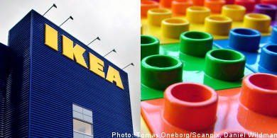 Lego in, Ikea out when naming Swedish boys