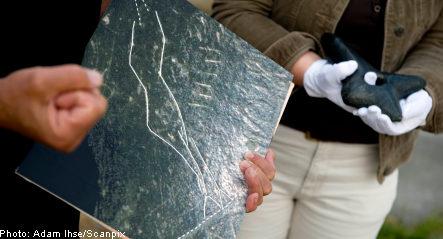 Stone Age axe holds hidden human figure