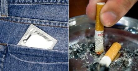 Swedish teens shun condoms and cigarettes