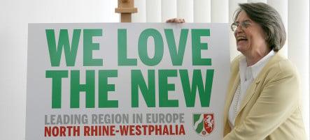 Jeers for North Rhine- Westphalia's new English slogan