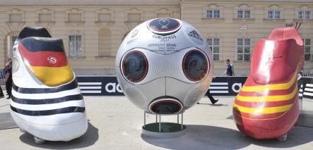 Germany's Adidas wins at Euro 2008