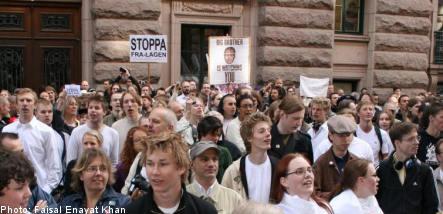 More Swedes against surveillance law
