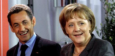 Merkel pledges backing for French EU presidency