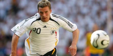 Polish-born Podolski banking on German win
