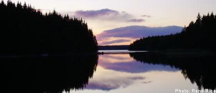 A shore thing: Swedish lakes