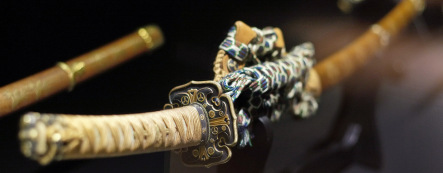 Drunken German attacks police with samurai sword