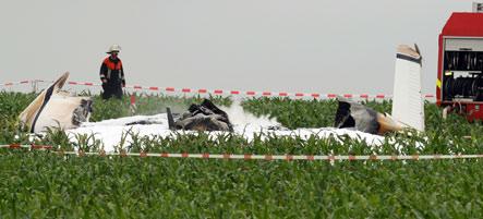 Three killed in Regensburg plane crash