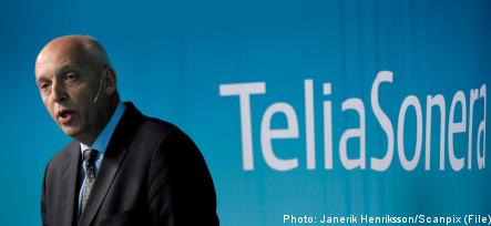 Dropped French bid hits TeliaSonera shares