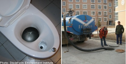 Swedish 'no-flush' toilets help fight Mongolian drought