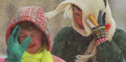 Finance senator says the poor should bundle up this winter