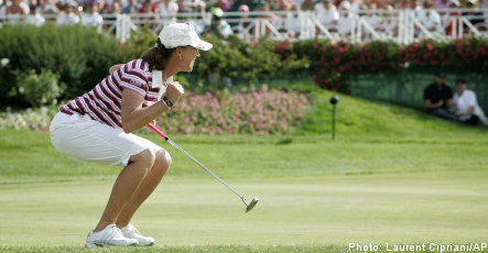 Two Swedes swing to success in golfing victories