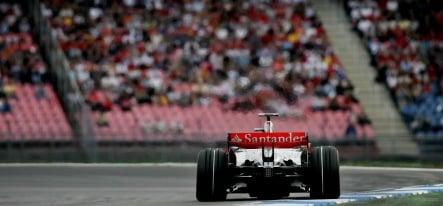 Hamilton cool starting German Grand Prix from pole