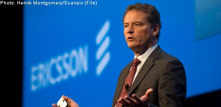 Ericsson profits crash
