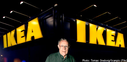 Ikea founder: sons as CEO 'not an option'