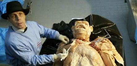 Body Worlds anatomist wants drowned German orangutan