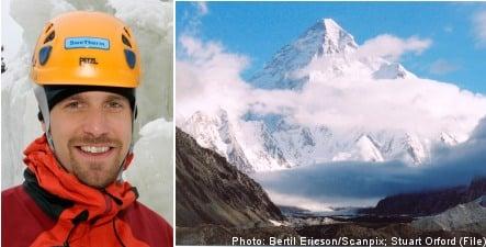 Swedish climber in K2 death drama
