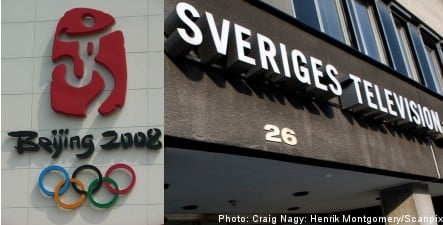 Sveriges Television in Olympic broadcast controversy