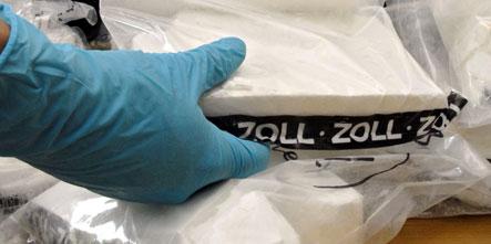 German pensioner caught in cocaine caper