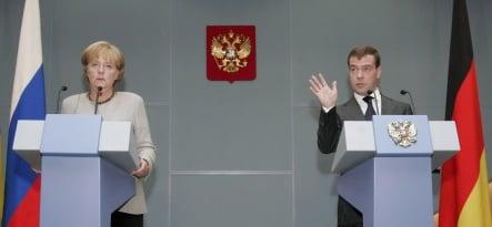 Merkel criticizes Russia over Georgia crisis