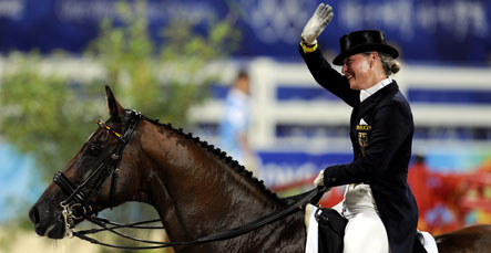 German riders take another Olympic equestrian gold