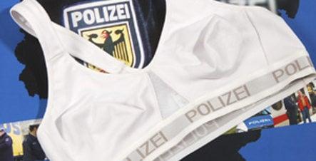 German policewomen get special safety bras
