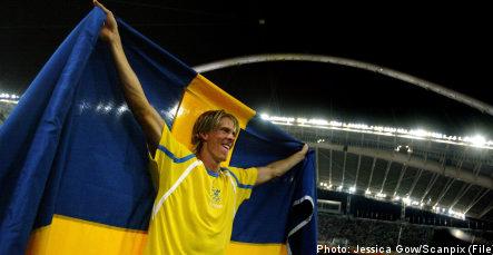 Olsson to carry Swedish flag