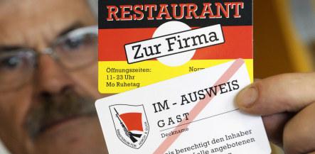 Berlin 'Stasi bar' draws protests