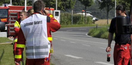 Locals return home after Mönchengladbach accident