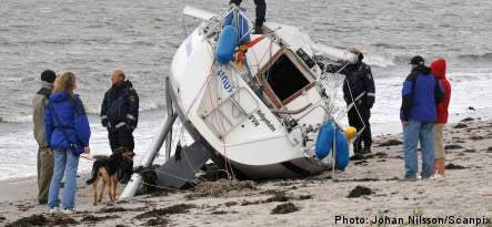 German and Russian sailors missing off Swedish coast