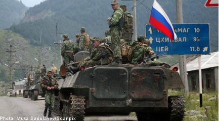 Bildt urges Russian restraint in Georgia