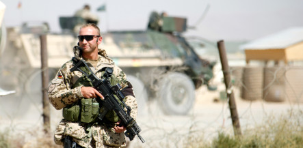 Three German troops hurt in suicide attack