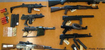 Major weapons seizure in Stockholm
