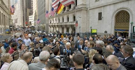 Steinmeier says Europe warned US on financial crisis