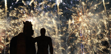 Canadians win in Berlin firework competition