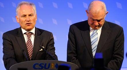 CSU suffers huge losses in Bavarian vote