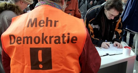 Germans unhappy with how democracy works