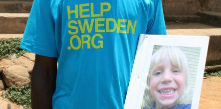 Ghana rallies to help Sweden