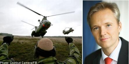 Georgia conflict delays Swedish defence plan