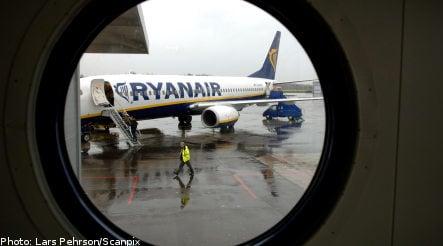 Swedish name blocked by Ryanair