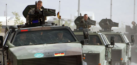 Suicide bomber attacks German troops in Afghanistan