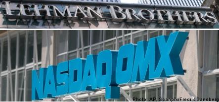 Swedish banks hit by Lehman bankruptcy